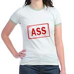 ASS! Jr. Ringer T-Shirt