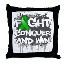 Mental Health Fight Throw Pillow
