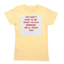 CRIBBAGE Girl's Tee