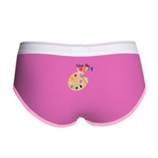 Color Me Happy Women's Boy Brief