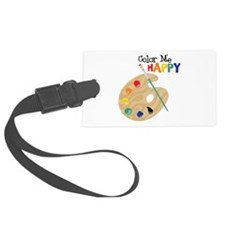 Color Me Happy Luggage Tag