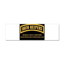 Rowan Oath Keepers Car Magnet 10 x 3