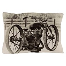 Cute Vintage motorcycle Pillow Case