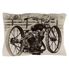 Unique Vintage motorcycle Pillow Case