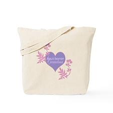 Worlds Sweetest Grandma Tote Bag