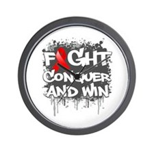 AIDS fight Wall Clock