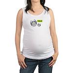 PEACE Owls Maternity Tank Top
