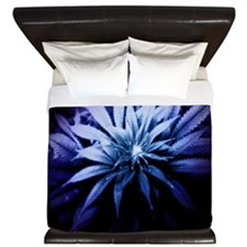 Blue Kush King Duvet