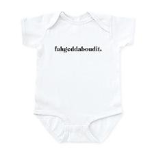 Fuhgeddaboudit Infant Bodysuit