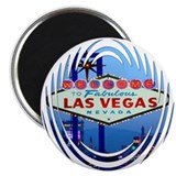 Las Vegas Sign (night) Magnet