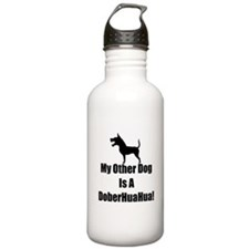 My Other Dog is a DoberHuaHua! Water Bottle