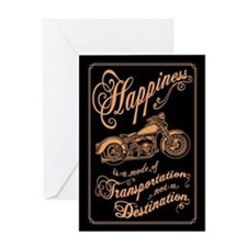 Mode of Happiness Greeting Card