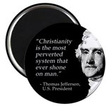 Jefferson Quote Magnet (100 pack)