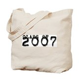 Class of 2007 Typed Tote Bag
