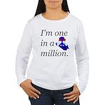One in a Million Women's Long Sleeve T-Shirt