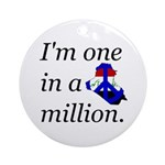 One in a Million Ornament (Round)