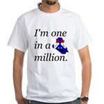 One in a Million White T-Shirt