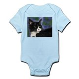 Cute Tuxedo cat lover Infant Bodysuit