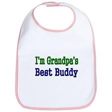 Im Grandpas Best Buddy Bib
