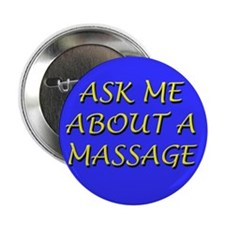 "Cute Massage 2.25"" Button (10 pack)"