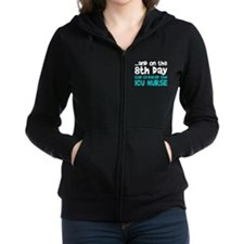 ICU Nurse Creation Zip Hoodie