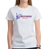 "Women's ""Vote Libertarian"" T-Shirt"