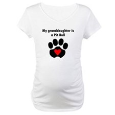 My Granddaughter Is A Pit Bull Shirt