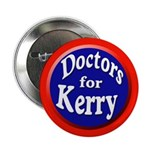 Doctors for Kerry (button)