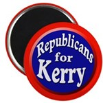 Republicans for Kerry Magnet (10 pack)