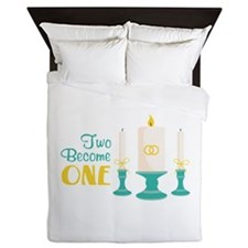 Two Become ONE Queen Duvet