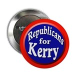 Republicans for Kerry Button (100 pack)