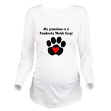 My Grandson Is A Pembroke Welsh Corgi Long Sleeve