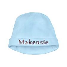 Makenzie Pink Flowers baby hat