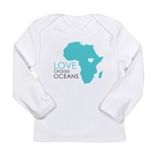 Love Crosses Oceans Long Sleeve T-Shirt
