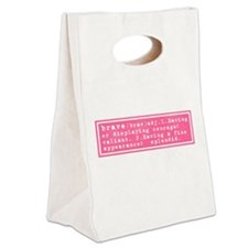 Cute Meaningful Canvas Lunch Tote