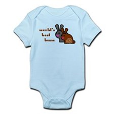 World's Best Buns Infant Bodysuit
