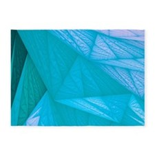 silk turquoise 5'x7'Area Rug