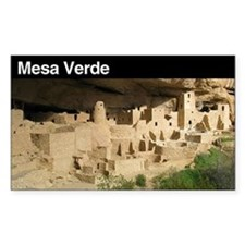 Mesa Verde National Park Rectangle Decal
