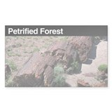 Petrified Forest National Par Sticker (Rectangular