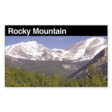 Rocky Mountain National Park Rectangle Decal