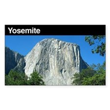 Yosemite National Park Rectangle Decal