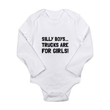 Girls Trucks Body Suit