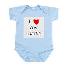 I love my auntie Infant Bodysuit