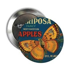 "Mariposa - 2.25"" Button (100 pack)"