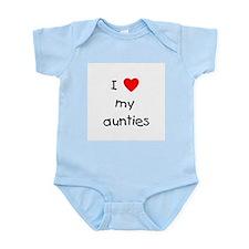 I love my aunties Infant Bodysuit