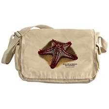 Red-Knobbed Starfish Messenger Bag