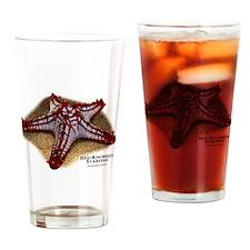 Red-Knobbed Starfish Drinking Glass