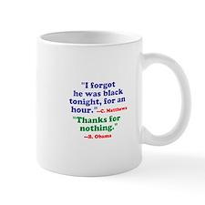 He Forgot He Was Black Mugs