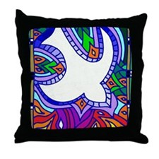 Celtic Flame Throw Pillow