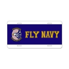 VP 23 Sea Hawks Aluminum License Plate